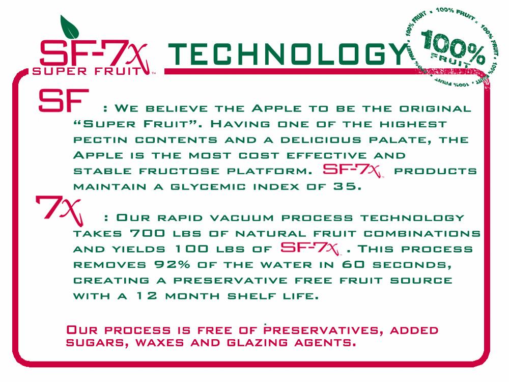 SF-7x SUPER FRUIT