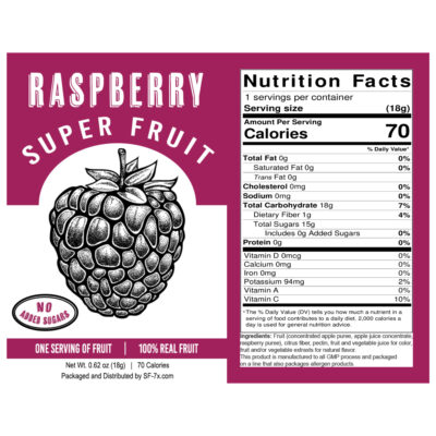 Raspberry 30 ct (Single Serving)