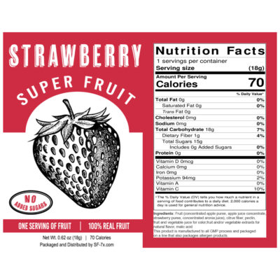 Strawberry 30 ct (Single Serving)